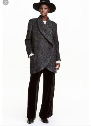 Распродажа h&m studio шерстяное пальто размеры