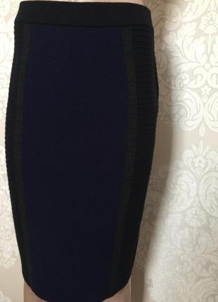 Юбка миди с мериносовой шерстью