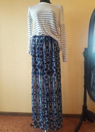Длинная летняя юбка new look
