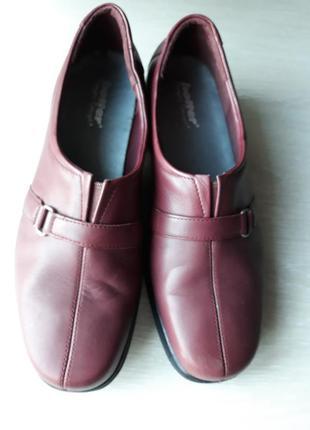Туфли кожаные hotter размер 38 англия