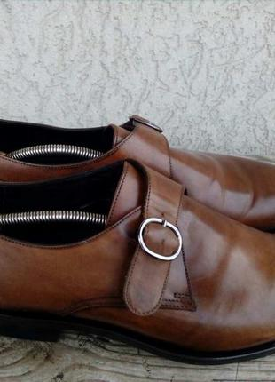 Туфли монки suitsupply нидерланды кожа 43р