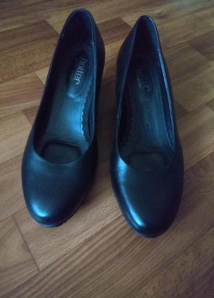 Туфли hotter кожаные новые