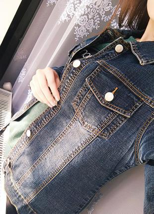 Жилетка/жакет/джинсовая куртка /джинсовка