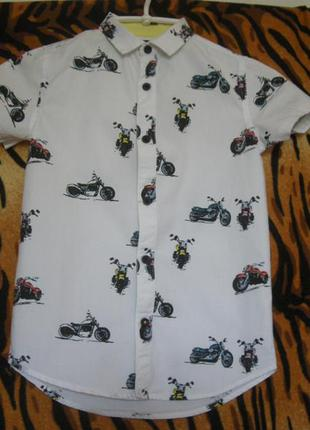 "Тениска-супер""river island"",6лет,116см.,100%коттон,индия."