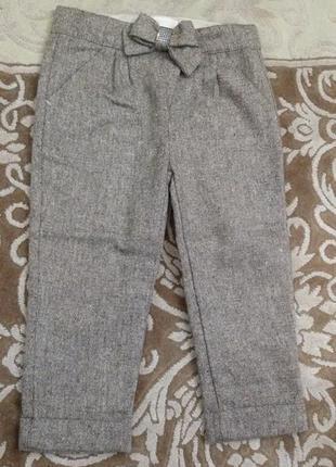 Очень красивые нарядные штанишки wojcik войчик на девочку 3-4 года