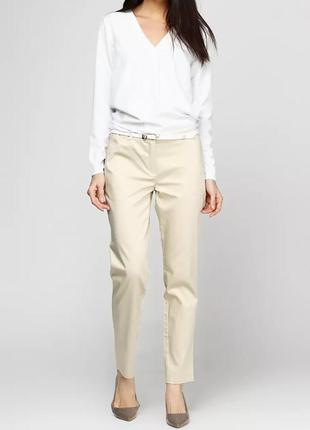 Стильные хлопковые брюки