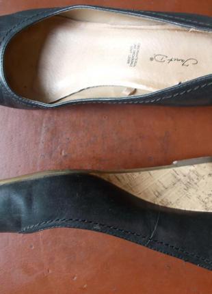 Туфли janet d из натуральной кожи