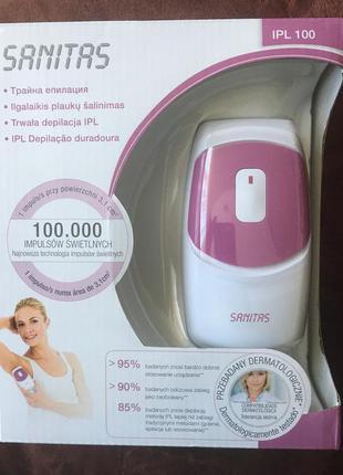 Фотоэпилятор sanitas ipl 100