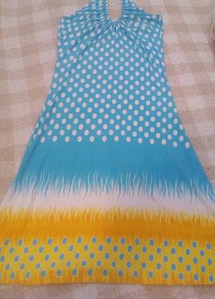 Летний сарафан,платье
