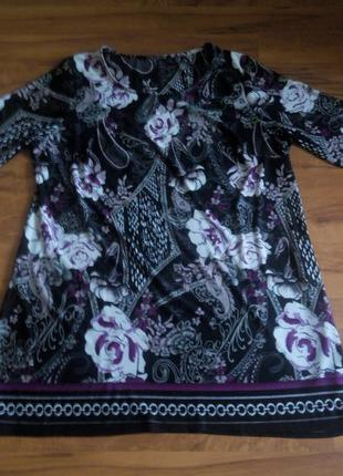 Платье туника. большой размер!david emanuel(англ.бренд)