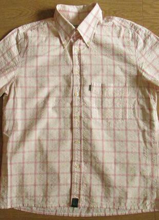 Фирменная рубашка с коротким рукавом paul smith