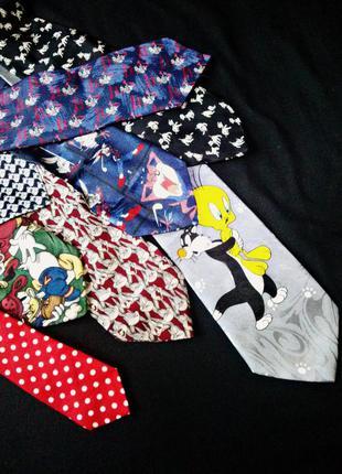 Забавные галстуки.