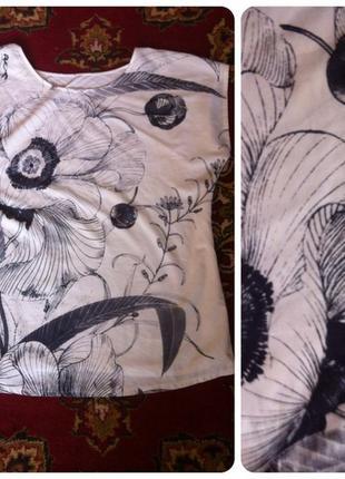 Блуза-туника h&m