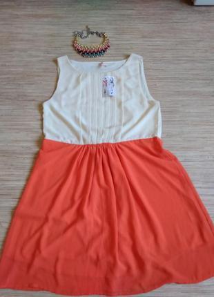 Красивое платье, размер m
