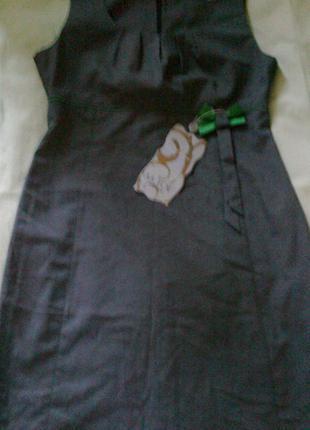 Симпатичный сарафан - платье для  офиса или школы