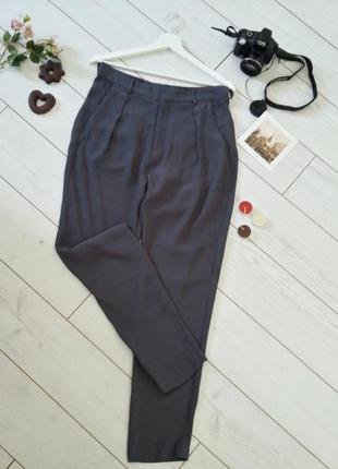 Легкие брючки с высокой посадкой от in wear...#00493