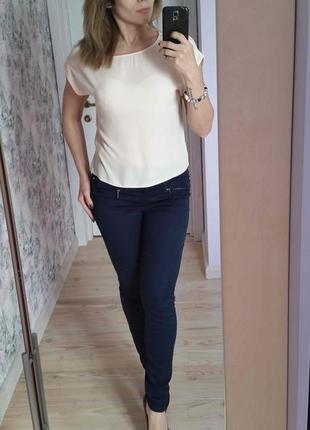 Блуза пудрового цвета3 фото
