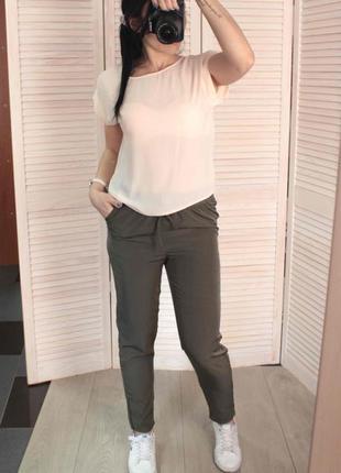 Блуза пудрового цвета4 фото