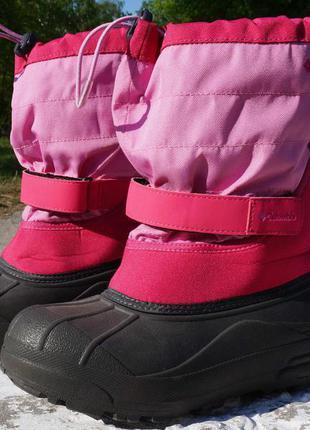 Сніжні черевики, ботінки, чоботи columbia youth powderbug forty
