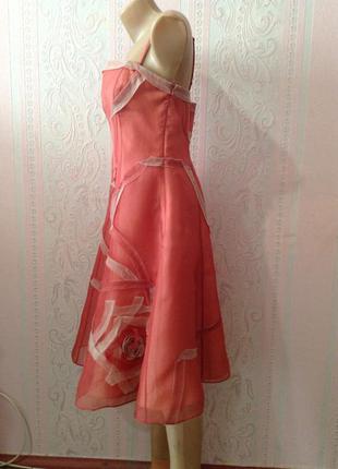 Шёлковое корсетное платье coast m ка