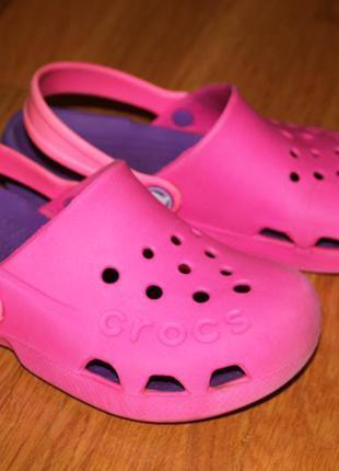 Кроксы crocs оригинал размер с 13 на 32-33 20,5 см по стельке