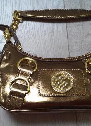 Маленькая сумочка. золотая