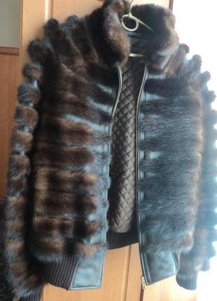 Норковая шубка -куртка.р46-48