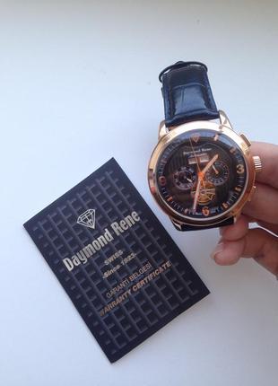 New*  documents !!! daymond rene  даймонд рене годинник  * automat -клас  a ++ premium