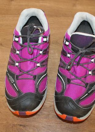 Треккинговые кроссовки salomon waterproof xapro, 35 размер