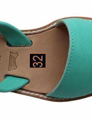 Босоножки сандалии абаркасы детские из козьей замши