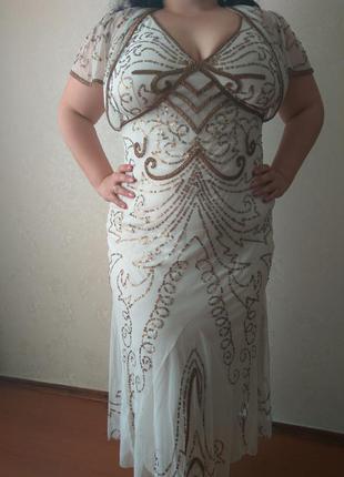 Шикарное вечернее платье на шикарную женщину