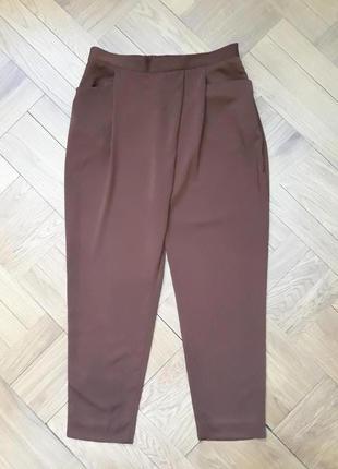 Базовые брюки свободного кроя