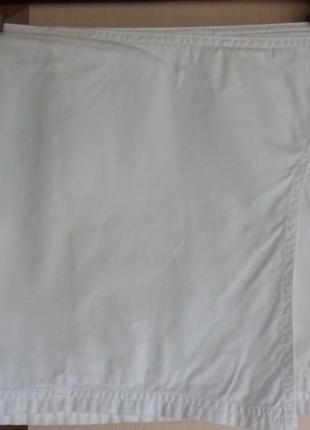 Белая юбочка-мини sisley