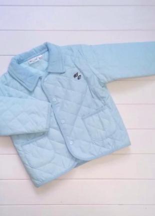 Новый стёганый пиджак 1,5-2 года