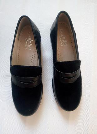 Туфли повышенного комфорта р. 39 juliet comfort новые натуральная кожа