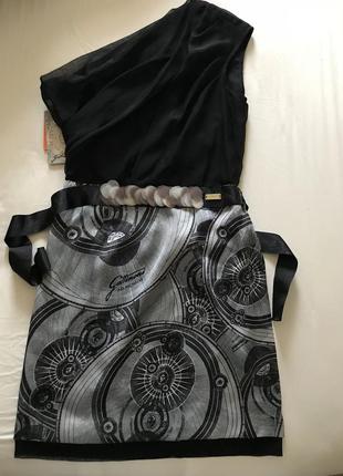 Вечернее шелковое платье gattinoni