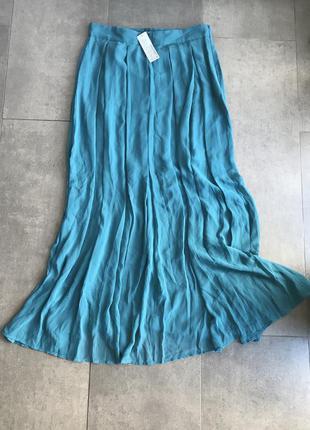 Лёгкая, воздушная, шифоновая юбка в пол sisley