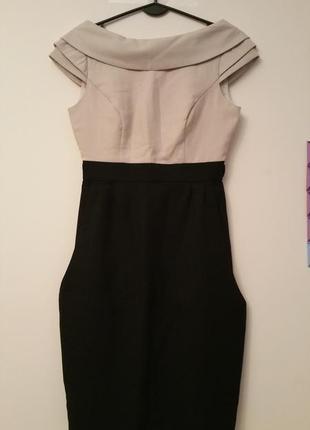Новое черное вечернее платье orsay. размер s.