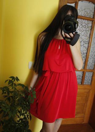 Нарядный сарафан платье миди летнее