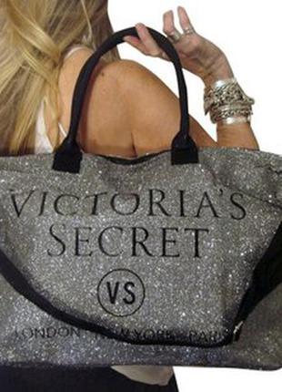 Сумка повседневная,сумка пляжная,сумка дорожная   victoria´s secret