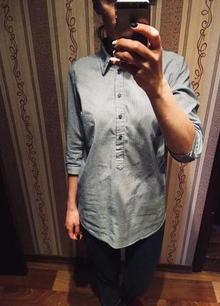 Удлиненная рубашка new look