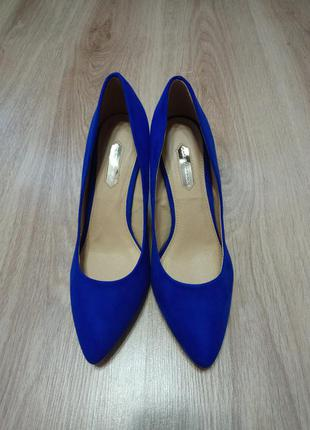 Синие туфли dorothy perkins