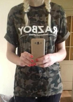 Камуфляжные женские футболки 2019 - купить недорого вещи в интернет ... c68bc845184cc