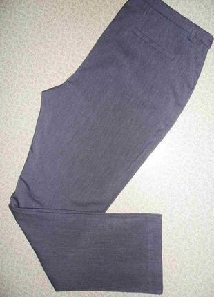 Стильные модные деми брюки 54-58р стрейч об 120-130 см