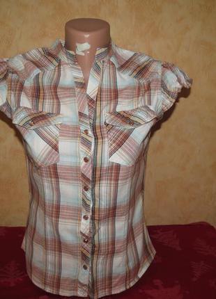 Рубашка new look. xs/s