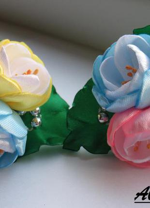 Резиночки букетики с дюшесками