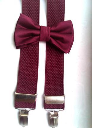 Стильная мужская галстук-бабочка.
