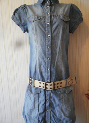 #джинсовое платье баллон #please#италия #