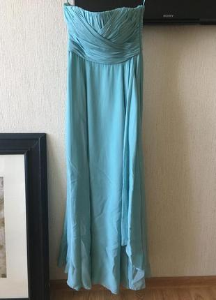 Вечернее платье для стройной девушки