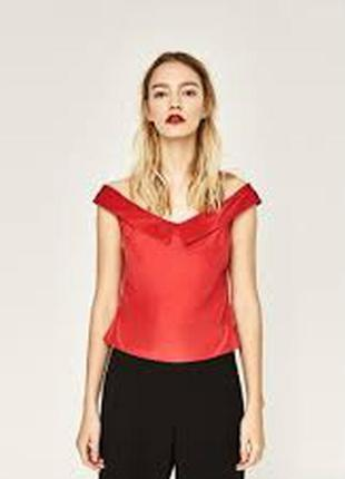 Zara блуза s 8456428600